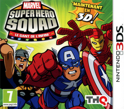Marvel Super Hero Squad - The Infinity Gauntlet 3DS coverM (AMSP)