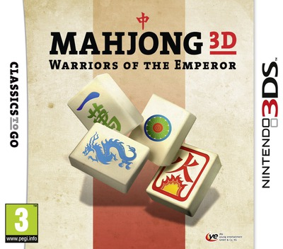 Mahjong 3D - Warriors of the Emperor 3DS coverM (AMZP)