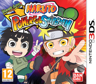Naruto Powerful Shippuden 3DS coverM (AN4P)