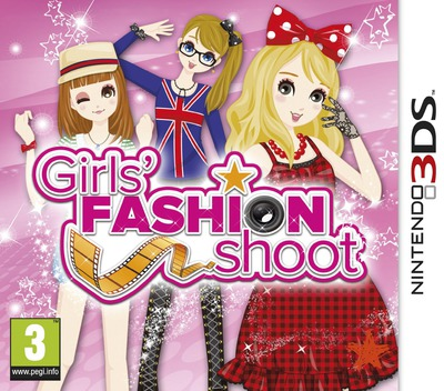 Girls' Fashion Shoot 3DS coverM (ANLD)
