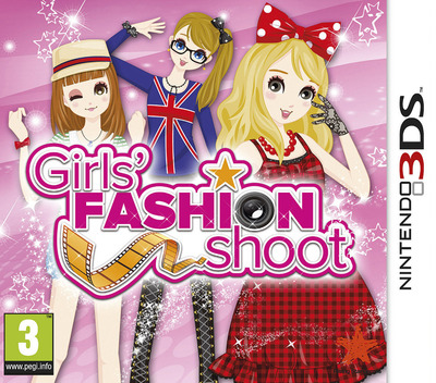 Girls' Fashion Shoot 3DS coverM (ANLP)