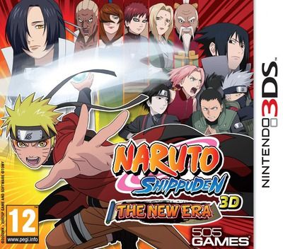 Naruto Shippuden 3D - The New Era 3DS coverM (ANTF)
