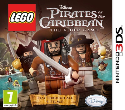 LEGO Pirates of the Caribbean - The Video Game 3DS coverM (APCP)