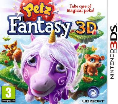 Petz Fantasy 3D 3DS coverM (APFP)