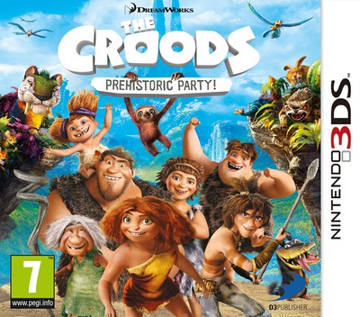 The Croods - Prehistoric Party! 3DS coverM (AQRP)