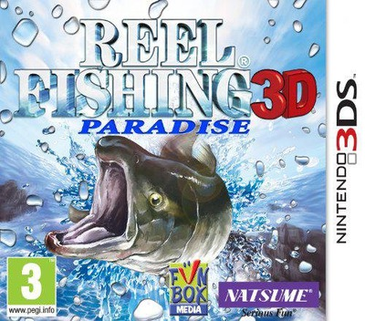 Reel Fishing Paradise 3D 3DS coverM (ARFP)