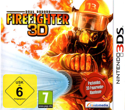 Real Heroes - Firefighter 3D 3DS coverM (ARHD)