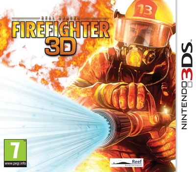 Real Heroes - Firefighter 3D 3DS coverM (ARHP)