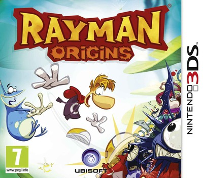 Rayman Origins 3DS coverM (ARMP)