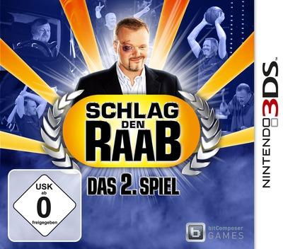 Schlag den Raab - Das 2. Spiel 3DS coverM (AS2D)