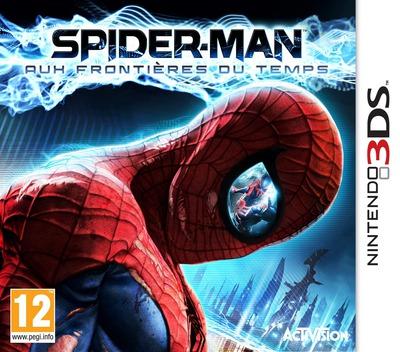 Spider-Man - Aux Frontieres du Temps 3DS coverM (AS7F)