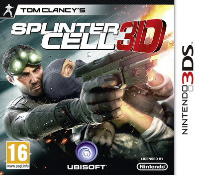 Tom Clancy's Splinter Cell 3D 3DS coverM (ASCP)