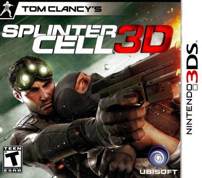 Tom Clancy's Splinter Cell 3D 3DS coverM (ASCZ)