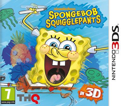SpongeBob SquigglePants 3DS coverM (ASGP)