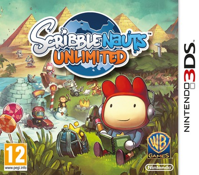 Scribblenauts Unlimited 3DS coverM (ASLX)