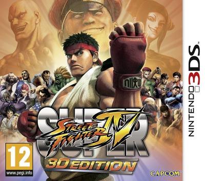 Super Street Fighter IV - 3D Edition 3DS coverM (ASSP)