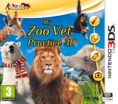 My Zoo - Vet Practice 3D 3DS coverM (ATXP)
