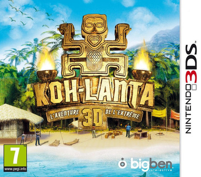 Survivor 3D - The Ultimate Adventure 3DS coverM (AV2P)
