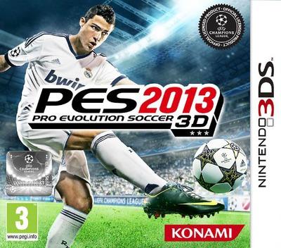 Pro Evolution Soccer 2013 3D 3DS coverM (AWTI)