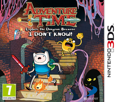 Adventure Time - Explore the Dungeon Because I DON'T KNOW! 3DS coverM (AY9P)