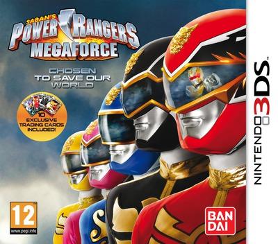 Power Rangers - Megaforce 3DS coverM (AZBP)