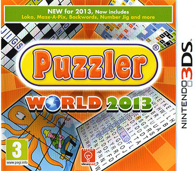 Puzzler World 2013 3DS coverM (AZLP)