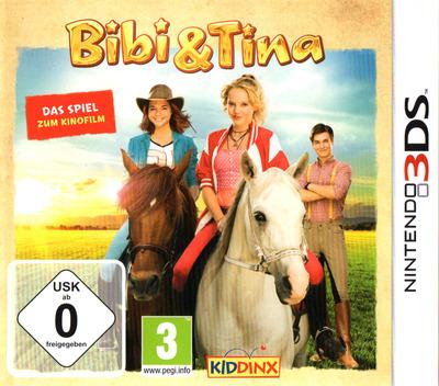 Bibi & Tina - Das Spiel zum Kinofilm 3DS coverM (BBTD)
