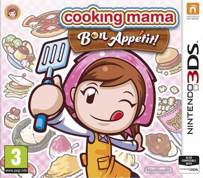 Cooking Mama - Bon Appetit! 3DS coverM (BC5P)