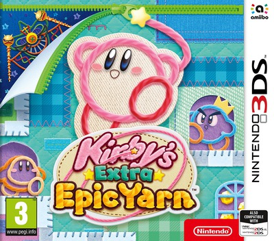 Kirby's Extra Epic Yarn 3DS coverM (BE4P)