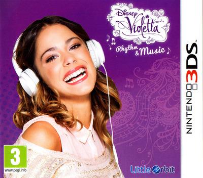 Disney Violetta - Rhythm & Music 3DS coverM (BGRP)
