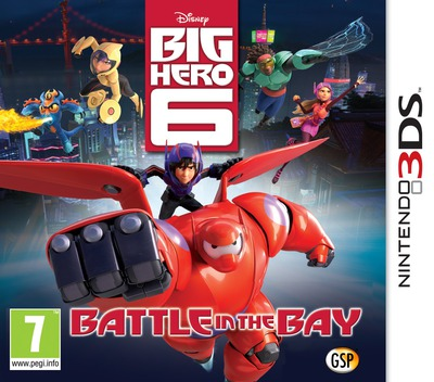 Big Hero 6 - Battle in the Bay 3DS coverM (BH6Z)