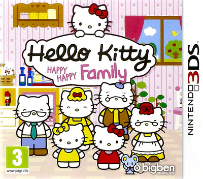 Hello Kitty Happy Happy Family 3DS coverM (BHHP)