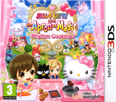 Hello Kitty and the Apron of Magic - Rhythm Cooking 3DS coverM (BHKP)