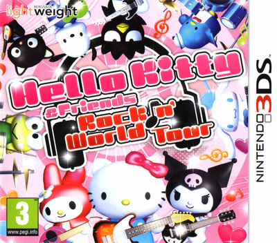 Hello Kitty & Friends - Rockin' World Tour 3DS coverM (BKTP)