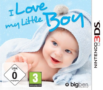 I Love My Little Boy 3DS coverM (BLBP)