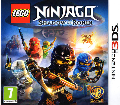 LEGO Ninjago - Shadow of Ronin 3DS coverM (BLSP)