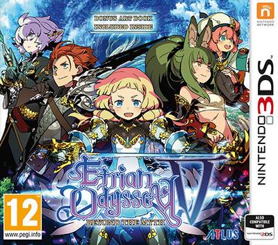 Etrian Odyssey V: Beyond the Myth 3DS coverM (BMZP)