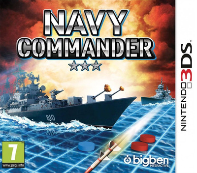 Navy Commander 3DS coverM (BNCP)
