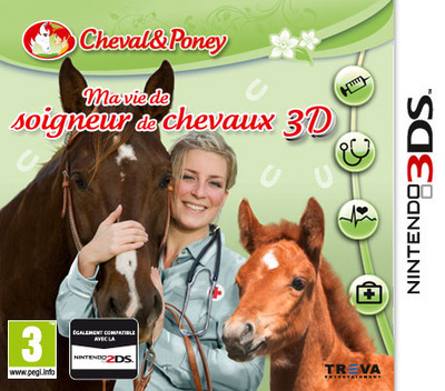 Horse Vet 3D 3DS coverM (BP9P)