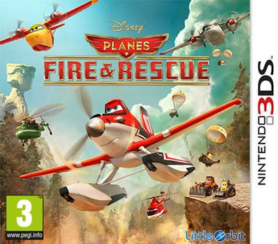 Disney Planes - Fire & Rescue 3DS coverM (BPRP)