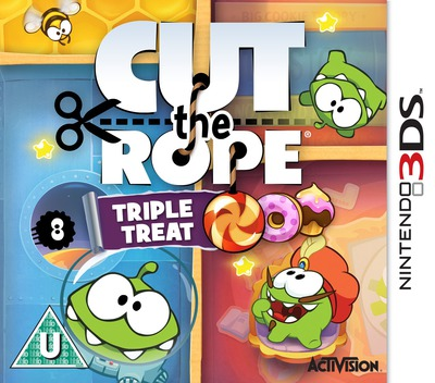 Cut the Rope - Triple Treat 3DS coverM (BR3P)
