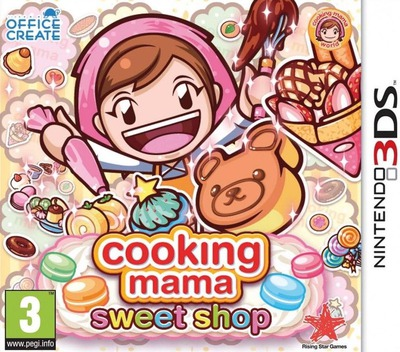 Cooking Mama: Sweet Shop 3DS coverM (BS8P)