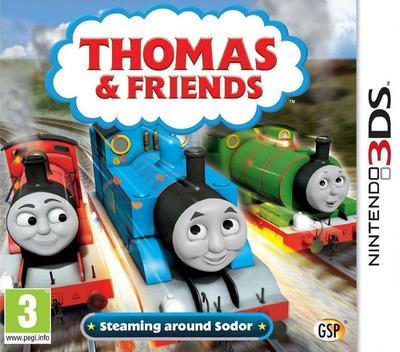 Thomas & Friends - Steaming around Sodor 3DS coverM (BTBP)