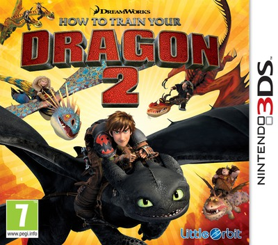 How to Train Your Dragon 2 3DS coverM (BTDP)