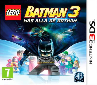 LEGO Batman 3 - Más Alla de Gotham 3DS coverM (BTMX)