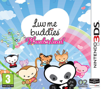Luv Me Buddies Wonderland 3DS coverM (BWLP)