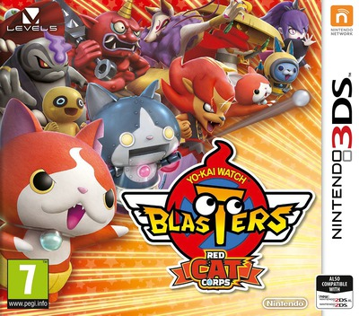 Yo-Kai Watch Blasters: Red Cat Corps 3DS coverM (BYAP)