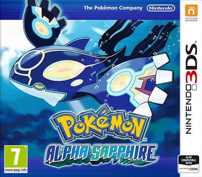 Pokémon Alpha Sapphire 3DS coverM (ECLA)