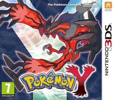 Pokémon Y 3DS coverM (EK2P)