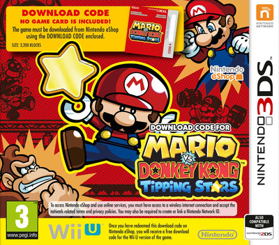 Mario vs Donkey Kong - Tipping Stars 3DS coverM (JYLP)